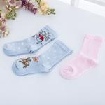 Alice Pamuklu 3'lü Çocuk Çorap 23-26 Mavi
