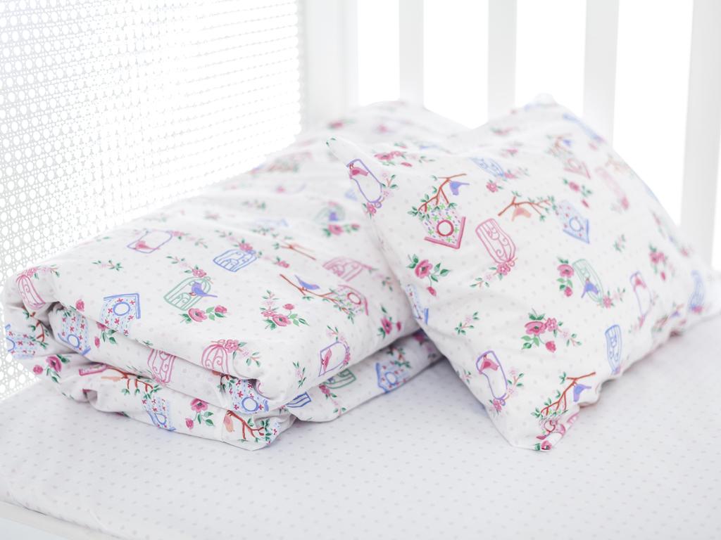 Avis Pamuklu Bebe Nevresim Takımı 100x150 Cm Pembe