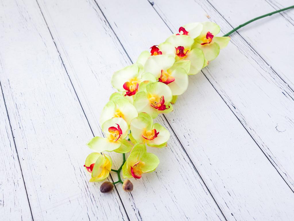 Butterfly Orchids Yapay Çiçek 112 Cm Yeşil