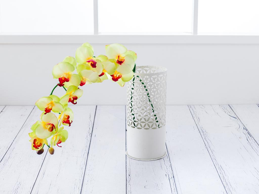 Butterfly Orchids Yapay Çıçek 112 Cm Yeşil