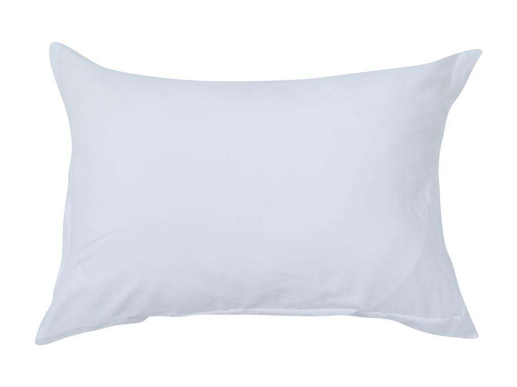 Düz Pamuk Saten 2'li Yastık Kılıfı 50x70 Cm Beyaz
