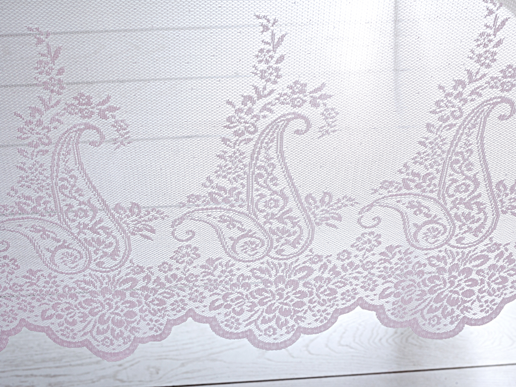 Festival Örme Masa Örtüsü 150x220 Cm Pembe