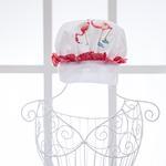 Flamingos Baskılı Aşçı Şapka 26x20 Cm .