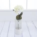 Hydrangea Yapay Çıçek 70 Cm Beyaz - Lila