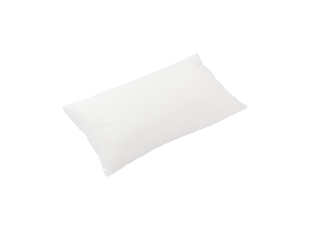 Silikonlu Kırlent Yastık 35x55 Cm Beyaz