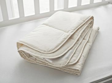 Layna Yün Bebe Yorgan 95x145 Cm Beyaz