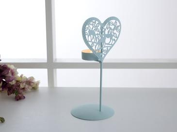 Lover Ferforje Ayaklı Mumluk 10,5x9,7x21,5 Cm Mint