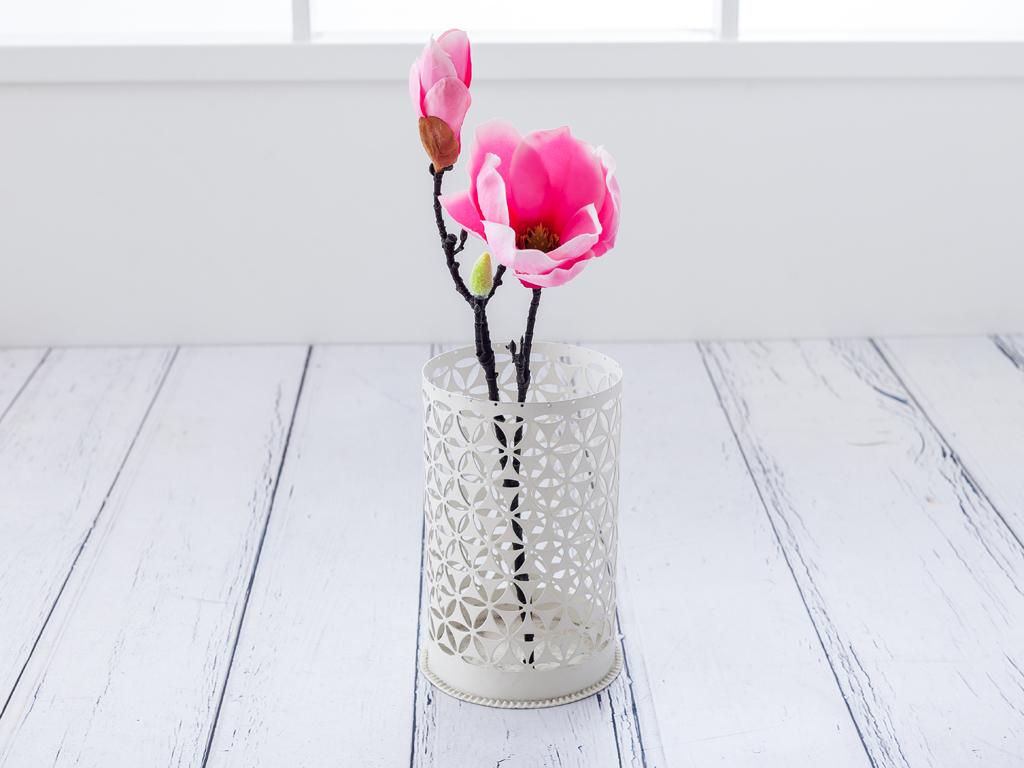 Magnolia Yapay Çiçek 43 Cm Pembe