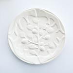 Pine Cone Stoneware Tabak 19,5x19,5x2,5 Cm Bej