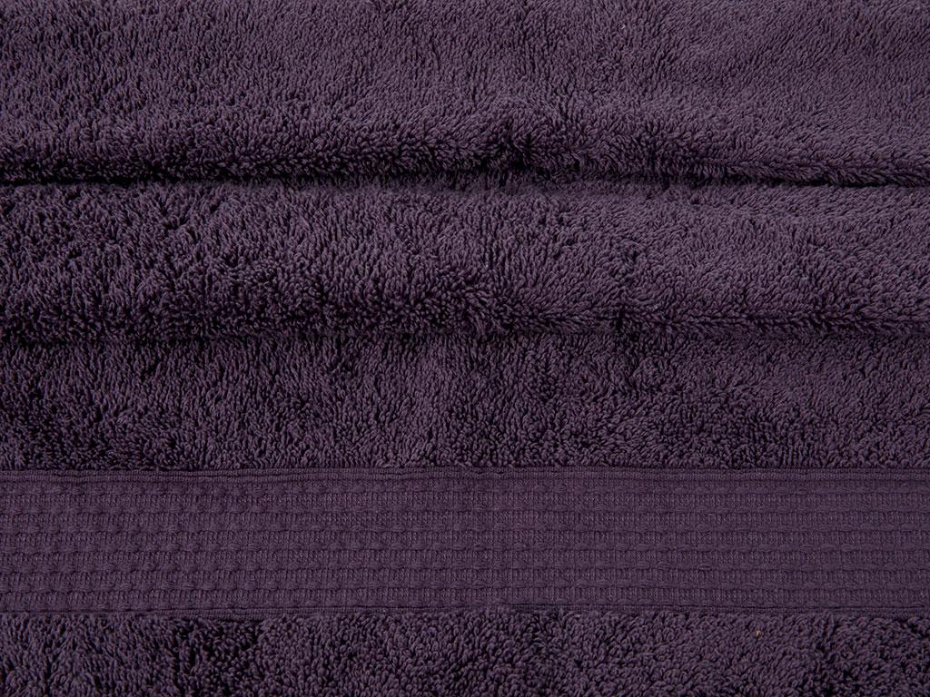 Pure Basic Yüz Havlusu 50x90 Cm Koyu Mor