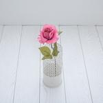 Rose Yapay Çıçek 53 Cm Koyu Pembe