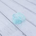 Daisy Tığ İşi Tığ İşi Yuvarlak Kapaklı Saklama Kutusu 9,0x6,5 Cm Mint