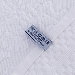 Diamon Jakarlı Yüz Havlusu 50x80 Cm Beyaz