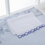 Karissa Nakışlı El Havlusu 30x45 Cm Beyaz