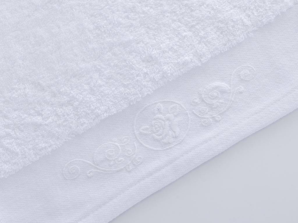 Liena Nakışlı El Havlusu 30x45 Cm Beyaz
