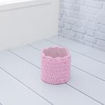 Lucca Polyester Sepet 14x14 Cm Pembe