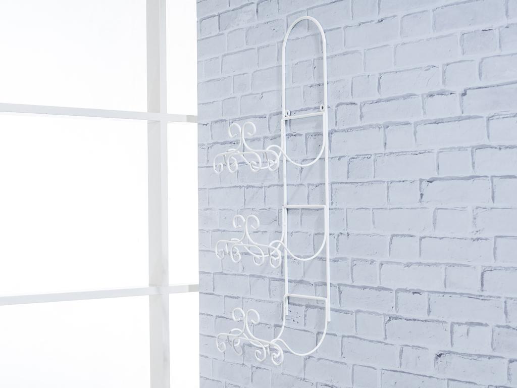 Luna Ferforje Havluluk 24x15x65 Cm Beyaz
