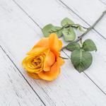 Rose Single Yapay Çıçek 56 Cm Sarı