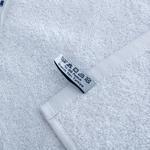 Yacht Nakışlı Yüz Havlusu 50x80 Cm Beyaz