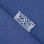 Düz Pamuklu Çift Kişilik Lastıklı Çarşaf 160x200 Cm Koyu Mavi