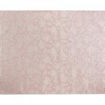 Rose Scroll Jakarlı Halı 140x200 Cm Gül Kurusu