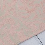 Lace Jakarlı Halı 70x140 Cm Pudra Pembe