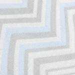 Zigzag Akrilik Tv Battanıye 120x170 Cm Mavi