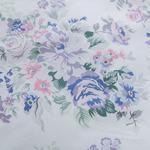 Floral Garden Pamuklu Çift Kişilik Nevresım 200x220 Cm Lila