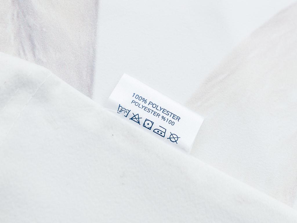 White Swan Dijital Baskı Dolgusuz Kırlent Kılıfı 40x40 Cm Beyaz