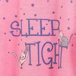 Cats Pamuklu Bayan Gecelık L Pembe