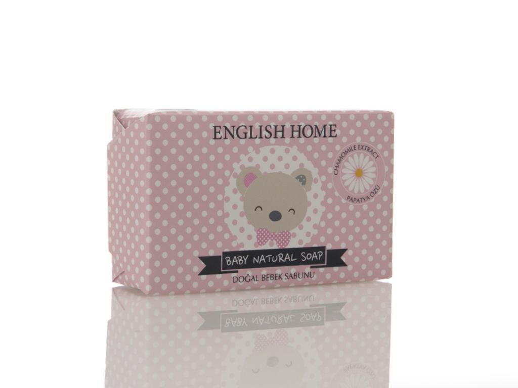 Baby Bear Doğal Sabun 100 Gr Pembe