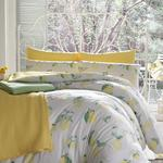 Citrus Pamuklu Çift Kişilik Nevresım 200x220 Cm Sarı
