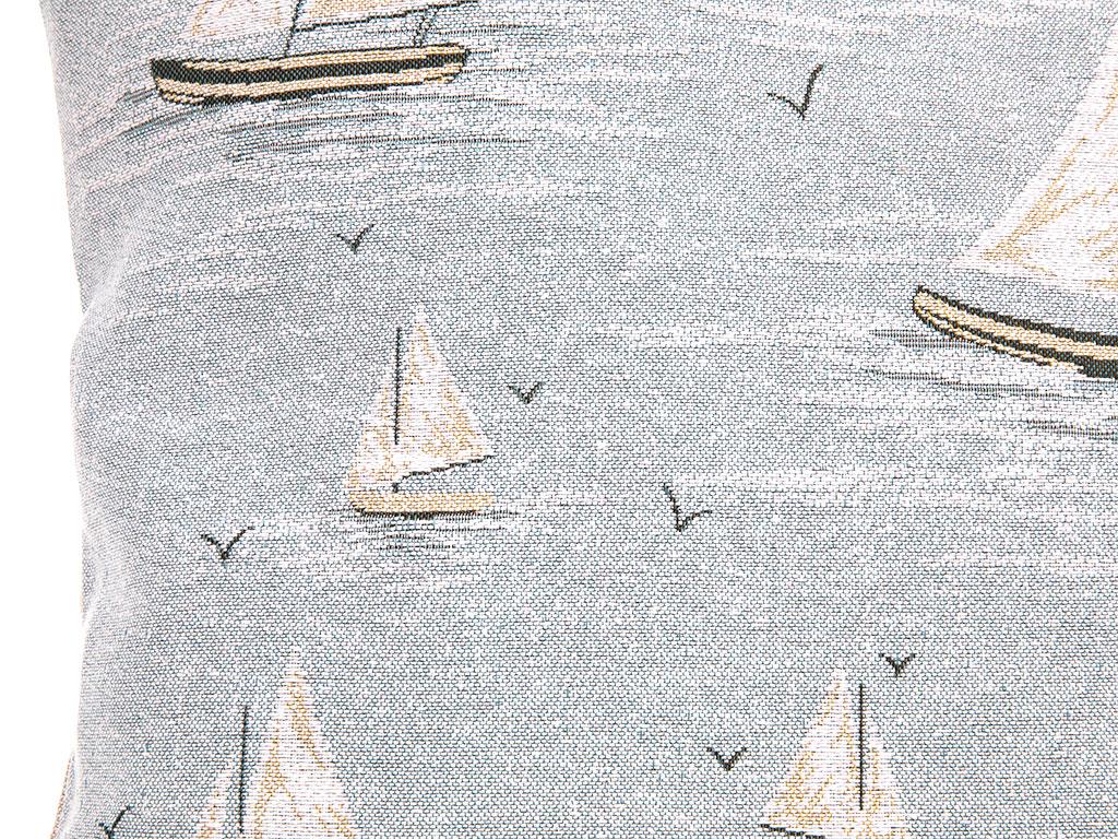 Ocean Blue Goblen Kırlent 45x45 Cm Mavi