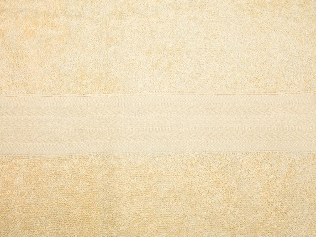 Herbal Bitkisel Yüz Havlusu 50x90 Cm Sarı