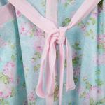 Pink Rose Pamuklu Desenli Sabahlık L-xl Pembe