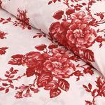 Ruby Rose Pamuklu Tek Kişilik Nevresım 160x220 Cm Kırmızı