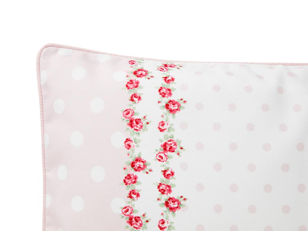 Allure Rosa Dijital Baskı Dolgusuz Kırlent Kılıfı 35x50 Cm Kırmızı - Beyaz