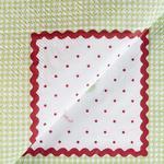 Puantiye Kağıt 22 Adet Kağıt Peçete 33x33 Cm Yeşil