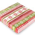 Happy Deers Kağıt 22 Adet Kağıt Peçete 33x33 Cm Yeşil
