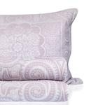 Orieantal Rose Cover Tek Kişilik Yatak Örtüsü Takımı 180x240 Cm Lila