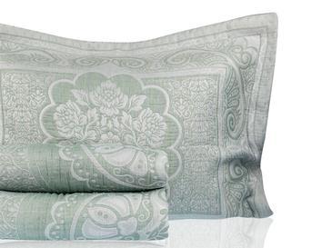 Orieantal Rose Cover Tek Kişilik Yatak Örtüsü Takımı 180x240 Cm Seledon