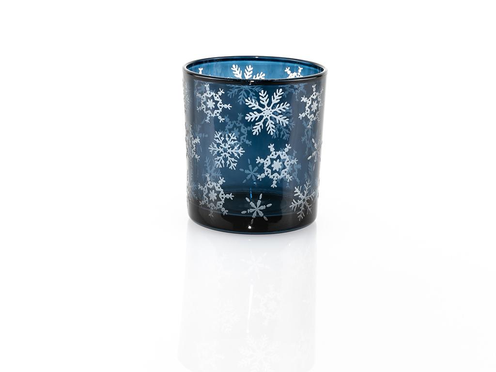 Snowy Cam Mumluk 7x7x8 Cm Mavi