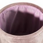 Fiori Kadife Sepet 17x15 Cm Pudra Pembe