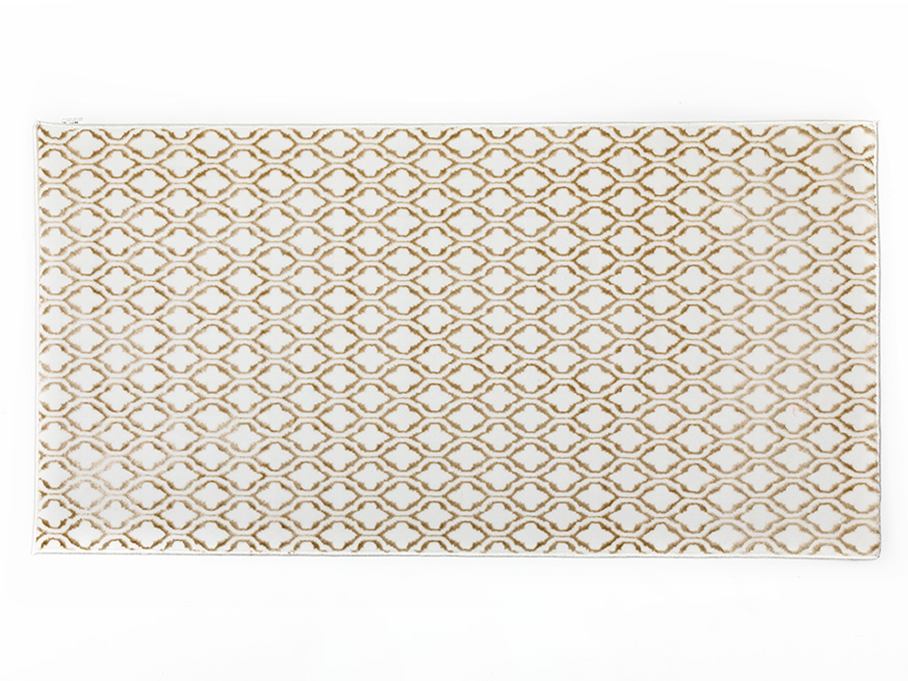 Trina Dokuma Halı 80x150 Cm Taş Rengi