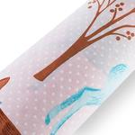 Fairy Forest Pamuklu Tek Kişilik Çocuk Nevresım 160x220 Cm Pembe