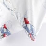 Sky Team Pamuklu 2'li Çocuk Yastık Kılıfı 50x70 Cm Mavi