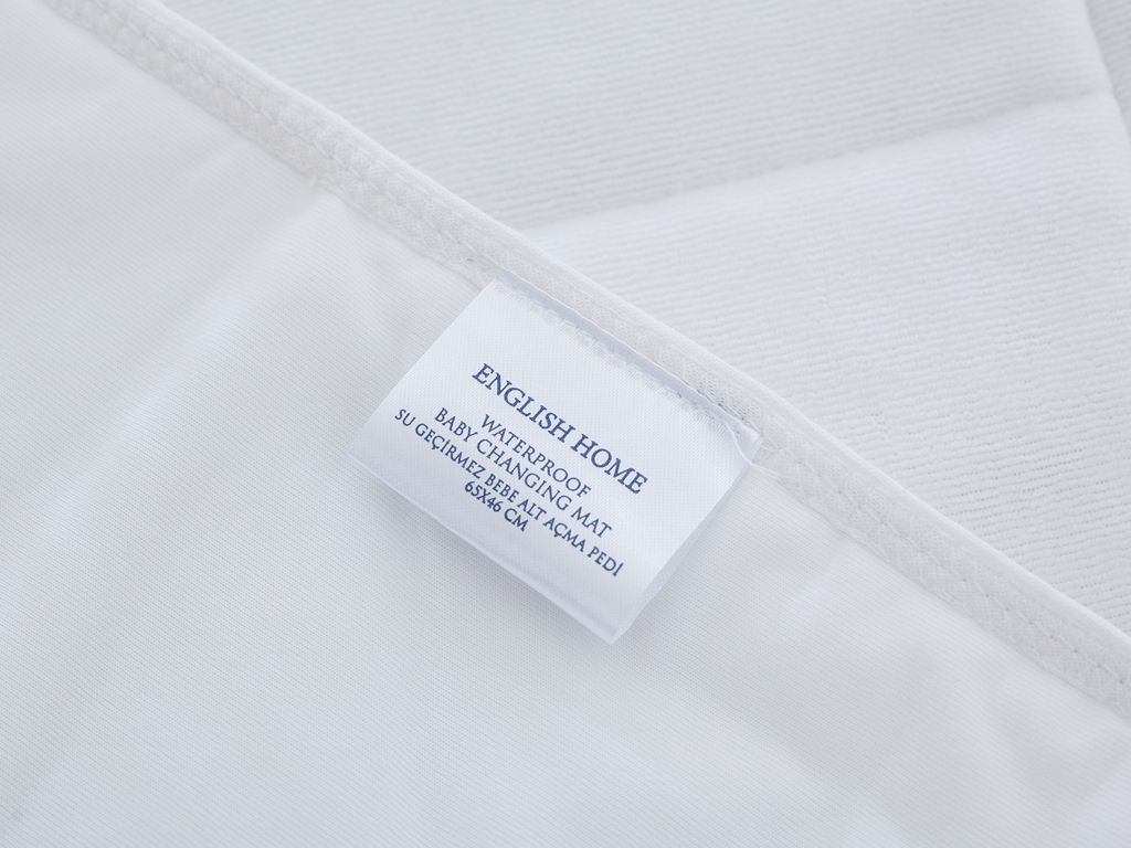 Comfy Su Geçirmez Bebe Alt Açma Pedi 65x46 Cm Beyaz