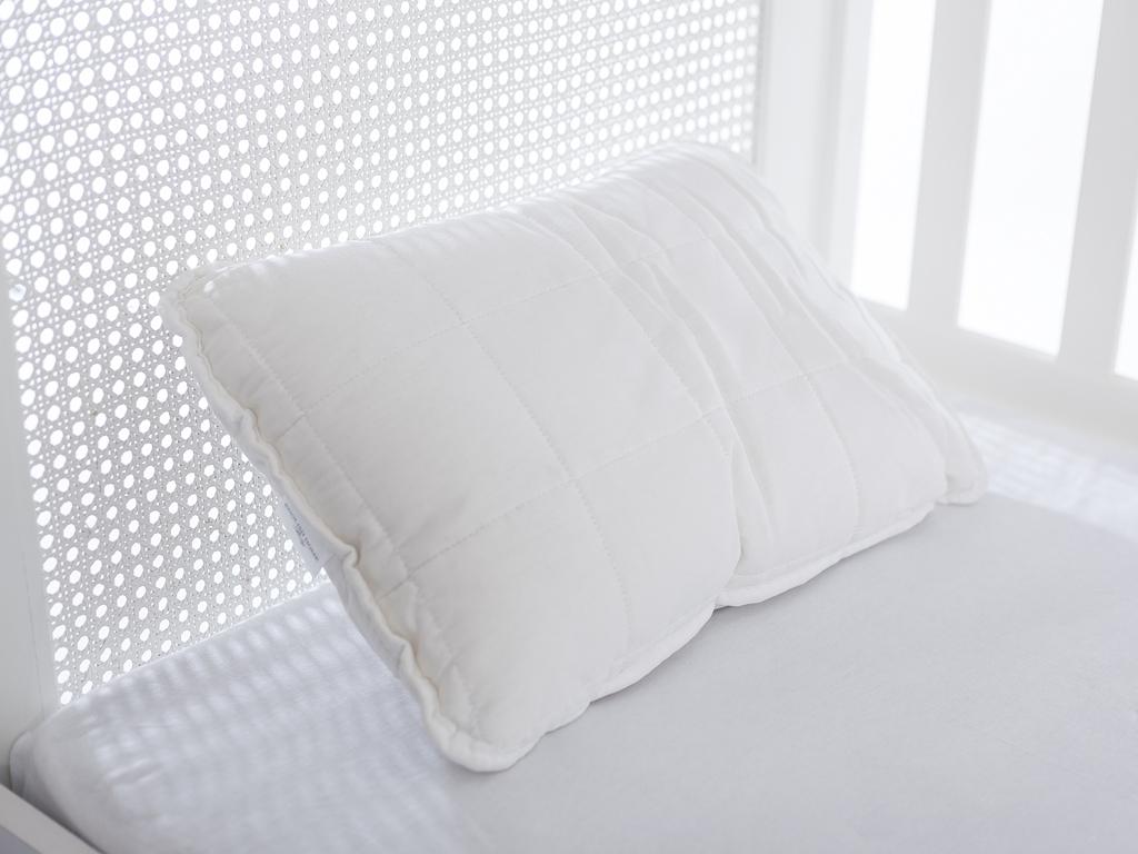Comfy Pamuk Bebe Yastık 35x45 Cm Beyaz