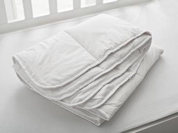Comfy Pamuk Bebe Yorgan 95x145 Cm Beyaz