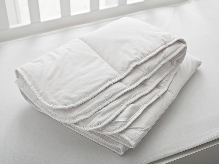 Comfy Pamuk Bebek Yorgan 95X145 Cm Beyaz